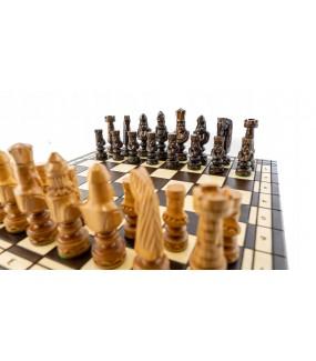 Ręcznie rzeźbione szachy